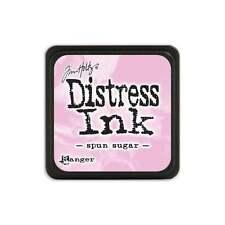 Tim Holtz Mini Distress Ink Pad Spun Sugar Pink, Rose