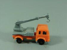 Voitures : Véhicules de Construction 3 - Camion Grue Orange/Argent