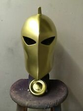1:1 Scale Gold Dr. Fate Helmet & Medallion Prop