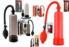 Vakuum Pumpe Potenzpumpe Penispumpe 7te Power Enlarger 2 Farben mit Pumpball