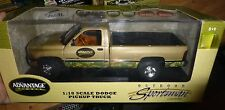 1:18 1995 DODGE 2500 PICKUP GOLD ADVANTAGE OUTDOOR SPORTSMAN