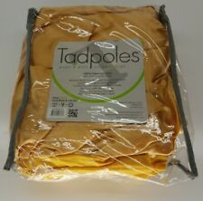 Tadpoles Triple Layer Satin Dust Ruffle Standard Crib Size Bed Skirt Gold New