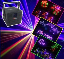 500mW RGB Full Color Stage Laser Light ILDA SD Card Disco DJ Xmas party Laser Sh