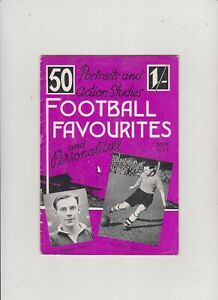 FOOTBALL  FAVOURITES  BOOK  5....1949 ?...PROVINCIAL  SPORTS...CLEAN + TIDY