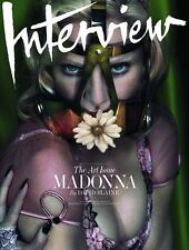 Interview Magazine December 2014 Madonna NEW