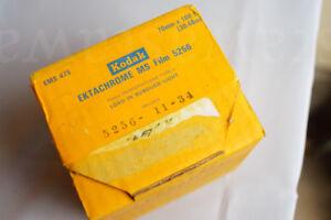 Bulk roll 70mmx100ft slide film - Kodak MS Film - Sealed - FROZEN - silver - BW