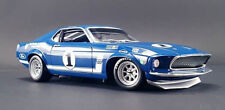 Acme 1969 Boss 302 Trans Am Mustang #1 - Sam Posey - Lime Rock winner 1/18