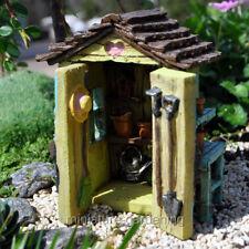 Miniature Fairy Backyard Garden Shed