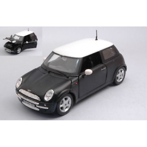 MINI COOPER 2006 BLACK 1:24 Maisto Auto Stradali Die Cast Modellino