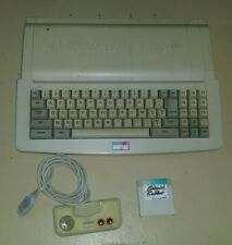"AMSTRAD CPC 6128 plus, + ,""CLAVIER ONLY"", BURNIN RUBER,LOCOMOTIVE, AZERTY,no 664"