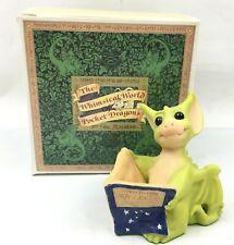 """Good News"" Whimsical World of Pocket Dragons Real Musgrave 1996"