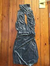 Alexander McQueen stunning velvet dress, size 44(IT), UK 10-12, used.