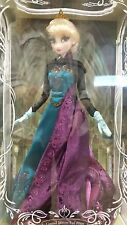 """DISNEY STORE LIMITED EDITION ELSA CORONATION DOLL 17"""" LE 5000 DVD RELEASE NRFB"""