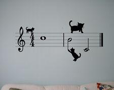 Music Vinyl Decal Musical Symbols Vinyl Stickers Home Interior Window Sticker 16