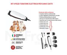 Tosatore elettrico professionale macchinetta per tosare cani e gatti persiani