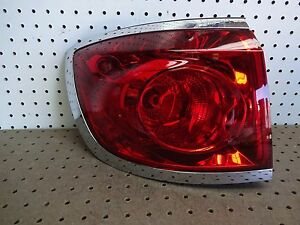 2008 2011 BUICK ENCLAVE LEFT DRIVER TAIL LIGHT OEM 2009 2010 08 09 10 11