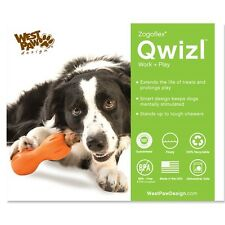 West Paw Qwizl Treat Interactive Tough Dog Toy - Free Shipping