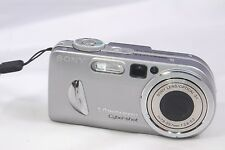 Sony Cyber-shot DSC-P10 5MP Digital Camera - Silver w/ FC11 battery UNTESTED