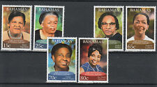 Bahamas 2012 Mnh 50th Anniv Para Mujer sufragio 6v Set Mary Ingraham Alberta Isaacs