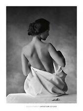 Cristian Coigny Female seated semi NUDE Print Picture Photo art érotique de b&w 60x80
