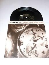 "CHER - If I Could Turn Back Time - 1989 UK 2- track 7"" vinyl Single"