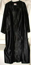 Graduation Gown ~ Also Good for Choir/Pulpit/Halloween Costumes ~ Black 5'7 5'8