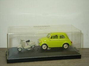 Steyr Puch 650T with Scooter - Vitesse 1:43 in Box *52622