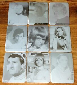 UFO 1 Trading Cards - 18 x Printer Plates for Foil Chase Card Set by Unstoppable