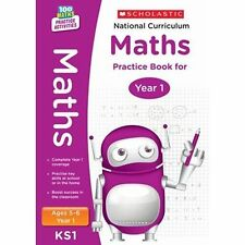 National Curriculum Maths Practice Book for Year 1 by Scholastic (Paperback, 20…