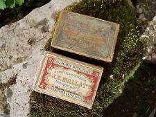 2 Anciennes boites à plumes  Mallat et Blanzy n°135
