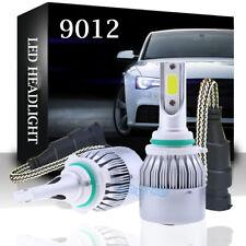 2x 9012 HIR2 LED Headlight Bulb Replace High Lo Beam 1300W 180000LM 6000K White