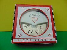 Kate Aspen A Slice Of Love Pizza Cutter New in box
