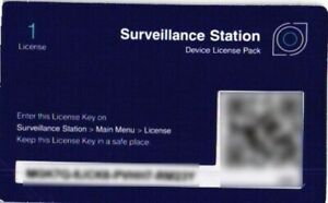 Synology IP Camera 1-License Pack for Surveillance Station - 2 of 7 Available
