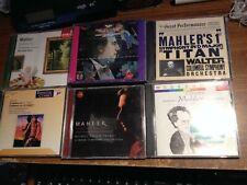 LOT OF 6 CLASSICAL CD'S (MAHLER SZELL MUTI LEVINE THOMAS