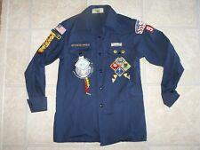 Vtg Boy Scouts Webelos Shirt Patches Hawk Mountain Council Order of Arrow Pin