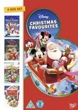 Disney Christmas Favourites (DVD, 2013, 4-Disc Set, Box Set)