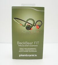 Plantronics BackBeat FIT Wireless Sport Headphones Stealth Green - Retail Pack