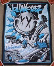 BLINK 182 concert gig poster print SAN DIEGO 3-20-15 2015 Brandon Heart