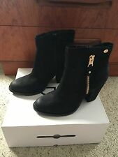 ALDO Ankle Zip 100% Leather Women's Boots