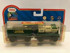 Thomas & Friends Wooden Recycling Cars w/Character Card LC99168 2005 - NIB Rare!