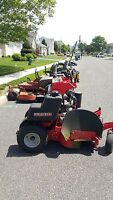 Gravely stand up mower