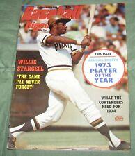 Baseball Digest Magazine December 1973, Willie Stargell, Pirates Cover N.M.