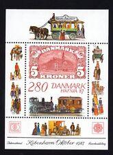 Dänemark Block 7 postfrisch