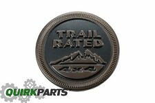 OEM MOPAR 75th Anniversary Edition 4x4 Trail Rated Emblem 16-17 JEEP WRANGLER