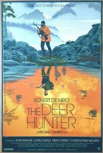 LAURENT DURIEUX - THE DEER HUNTER Variant Screen Print Poster /175