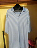 Nike Mens Golf Dri-fit Men's Polo Shirt Short Sleeve Size XXL Striped