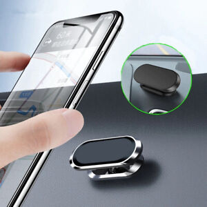360 Rotating Magnetic Car Mobile Phone Holder Dashboard Mount For Samsung iPhone
