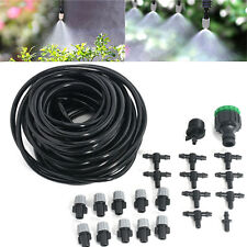 Garden Patio Irrigation System Sprinkler Water Mister Air Misting Cooling Micro