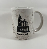 Mystic Connecticut Coffee Mug Speckled Cup