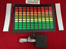 sound Activated DJ LED Flashing Light UP EQUALIZER WITH SENSOR FOR ANY T SHIRT